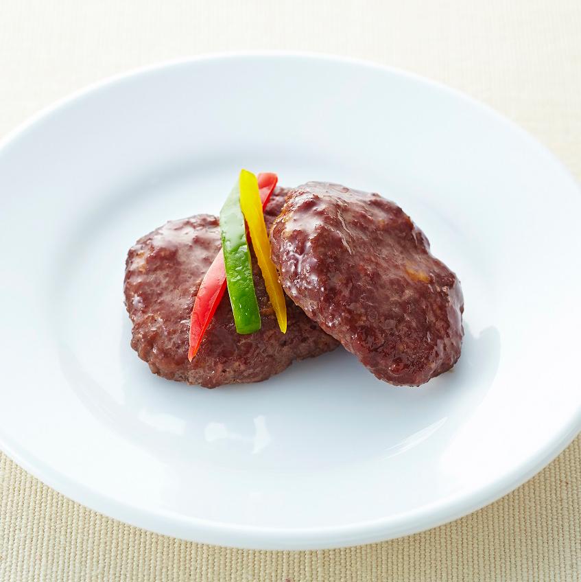 馬肉ハンバーグ