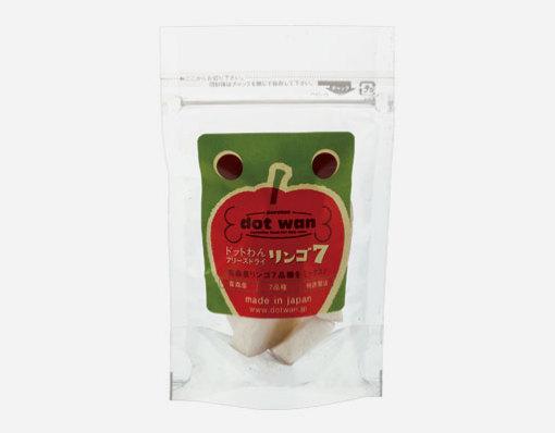 ドットわん フリーズドライリンゴ7 ミニ(8g)