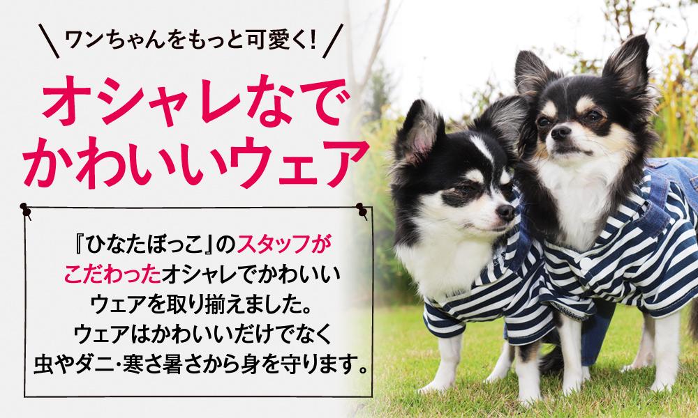 おしゃれで可愛い 犬服 ペットグッズ