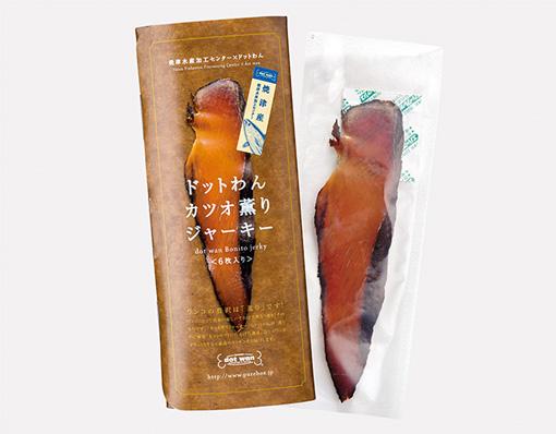 ドットわんカツオ薫りジャーキー(6枚)