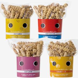 ドットわん枝クッキー おから納豆 おから砂肝 おからカツオ 北海道チーズ
