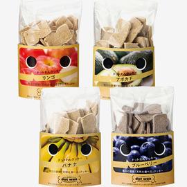 ドットわんフルーツクッキー 4種